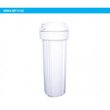 """10"""" Белый корпус + белая плоская крышка 1/4"""" EZ"""