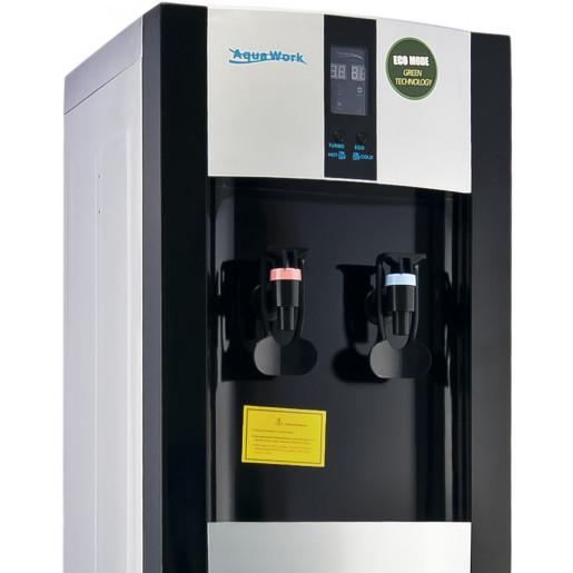 Aqua Work 16 LD/ENST черный с турбонагревом и электронным охлаждением