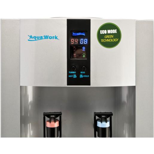 Aqua Work 16 LD/ENST серебристый с турбонагревом и электронным охлаждением